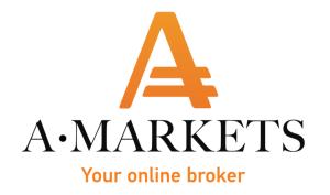 Logo Amarkets, логотип Амаркетс