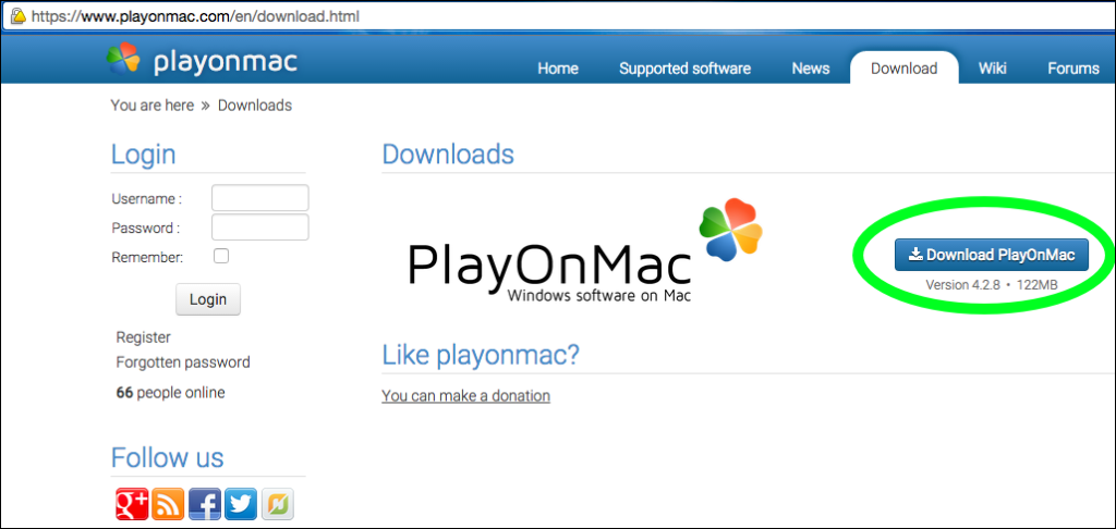 Playonmac download, Playonmac сайт