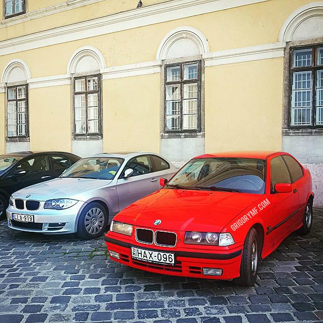Машины в Будапеште