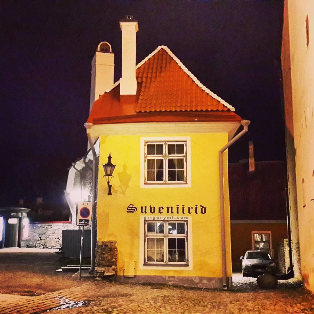 Разноцветные домики европа, Эстония, таллин, домик