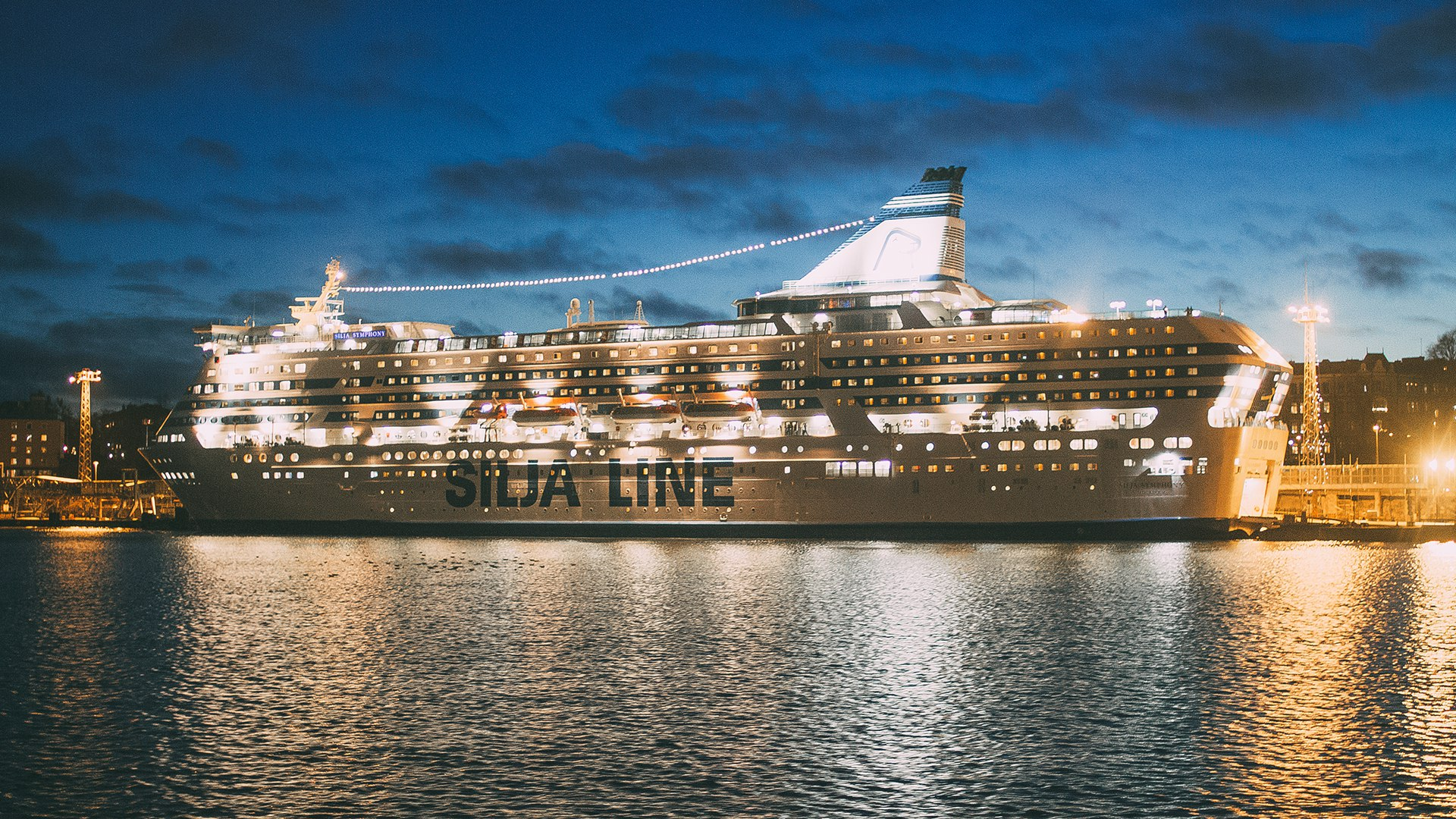 Silja line, Viking lines, паром, корабль, Хельсинки, порт