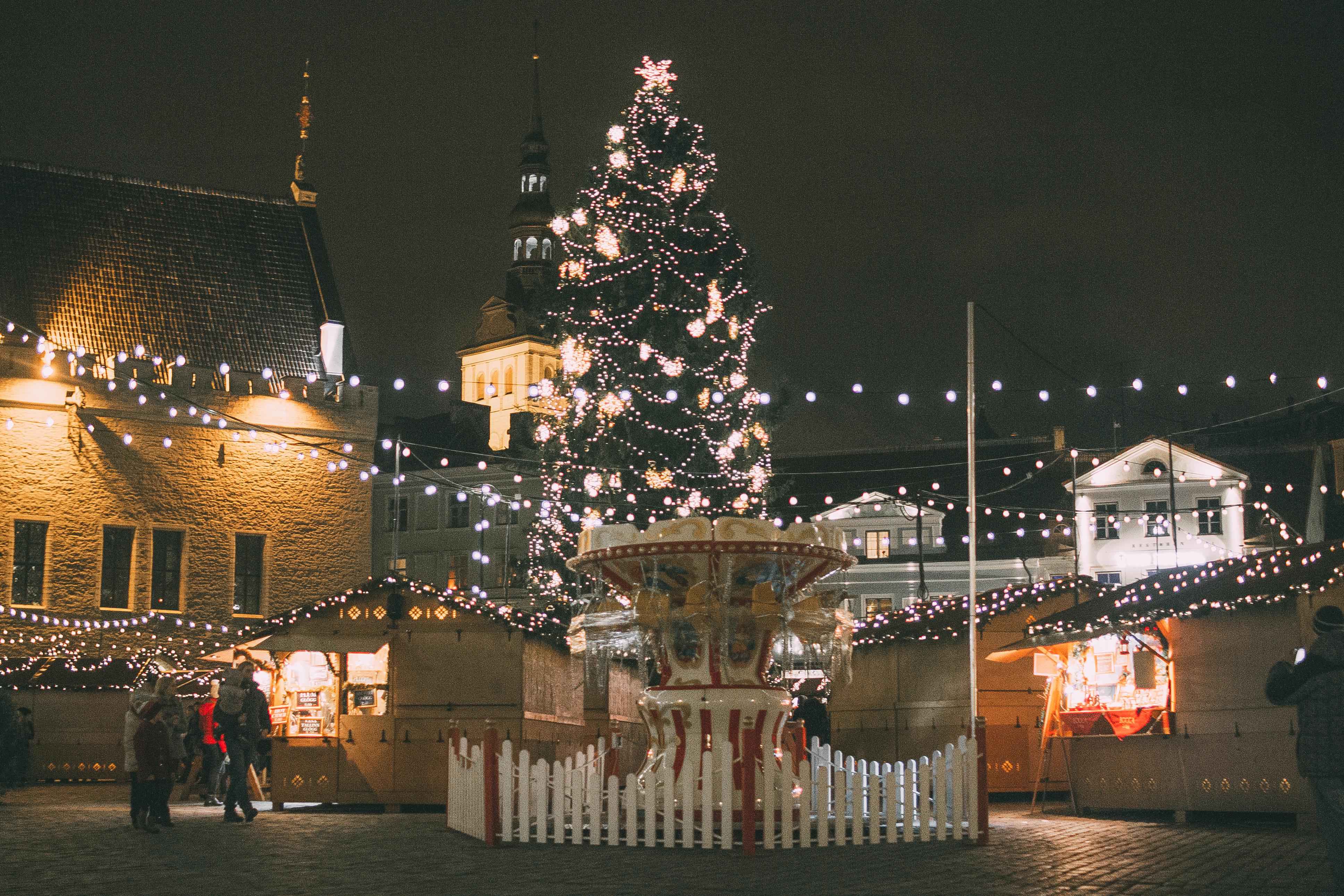 Таллин, Эстония, рождество, евротур, путешествие в европу, старый город