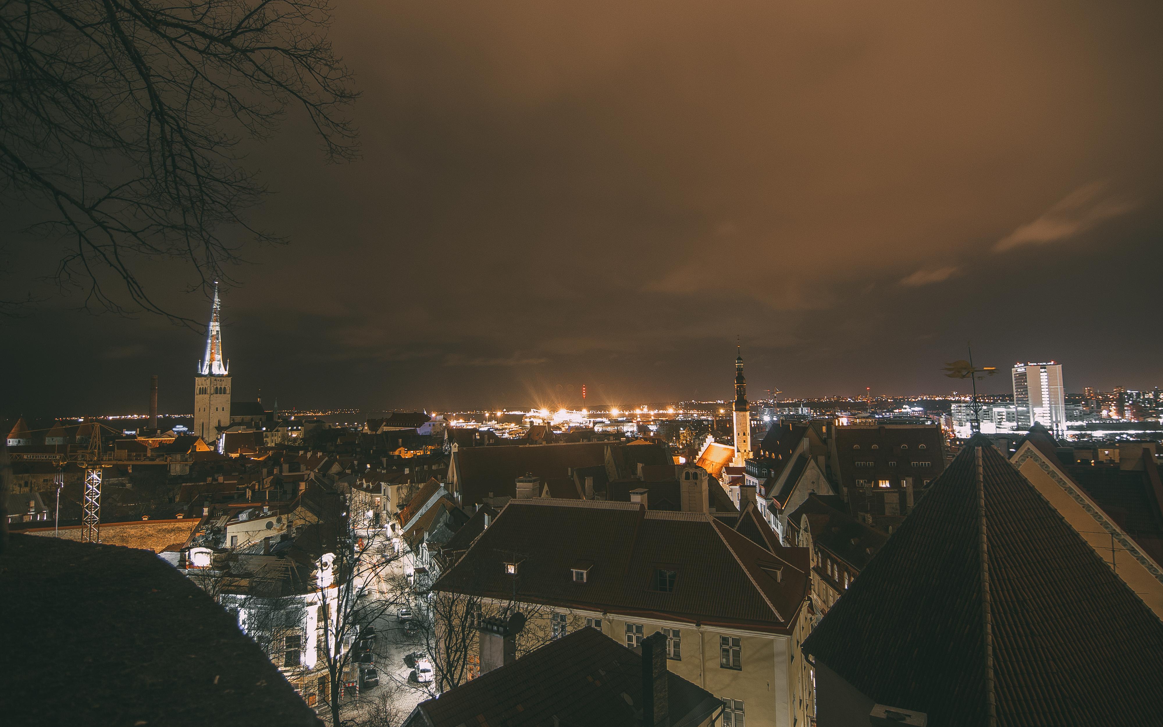 Таллин, эстония, старый город, евротур, путешествие в европу