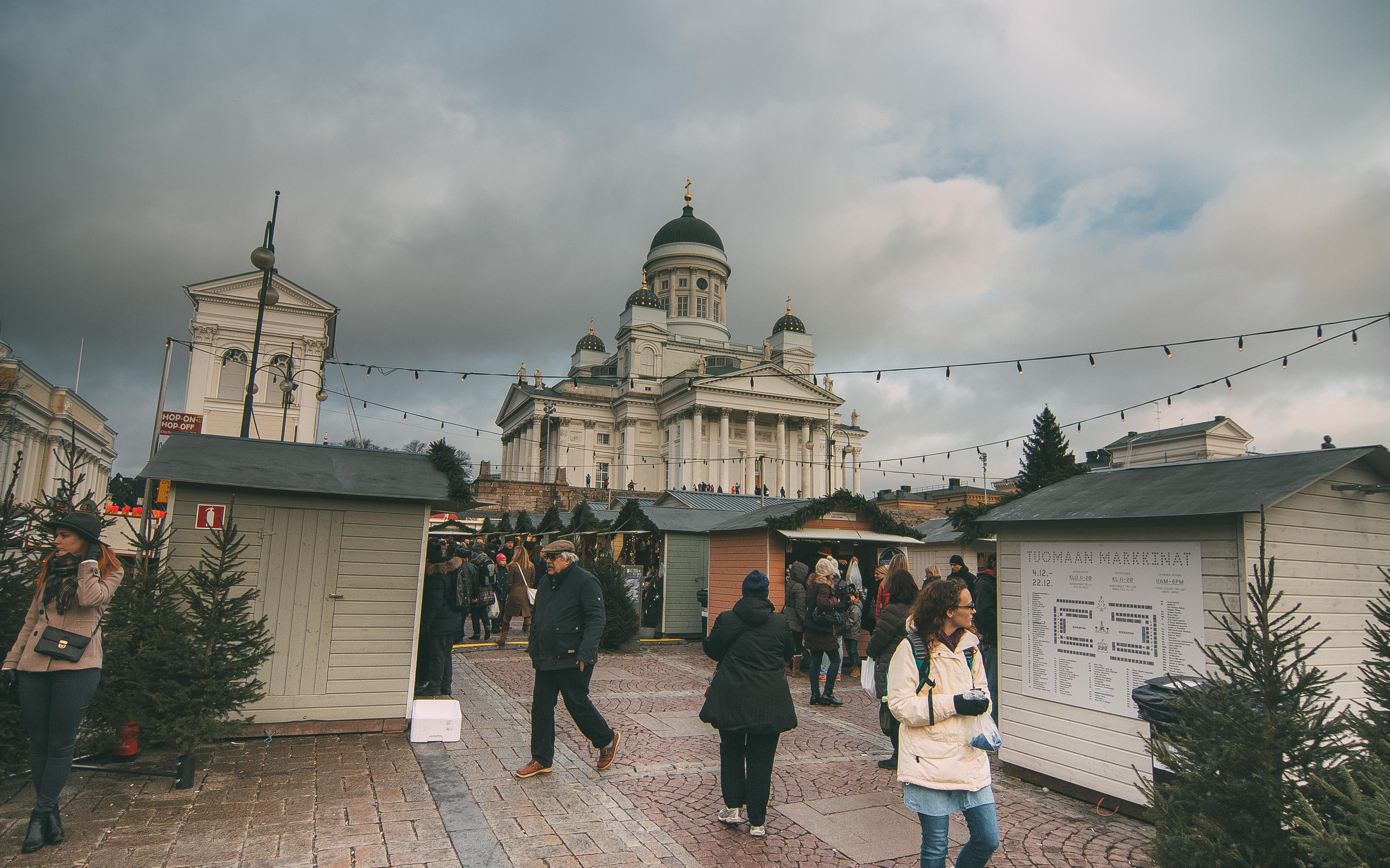 Кафедральный собор, Сенатская площадь, центральная площадь Хельсинки, Финлядния, путешествие в европу, helsingin tuomiokirkko helsingfors domkyrka