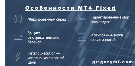 Fibo, Фибо, MT4 Fixed, условия, преимущества