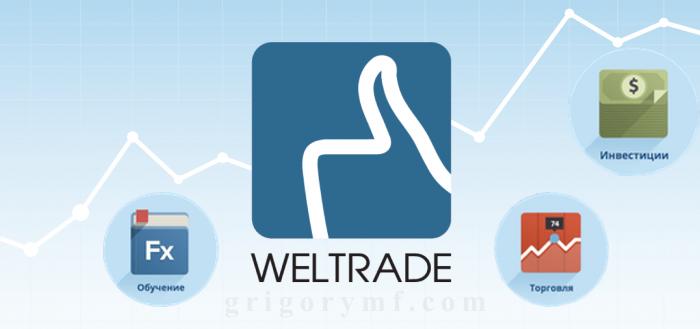 logo, Обзор и отзывы Велтрейд, Weltrade