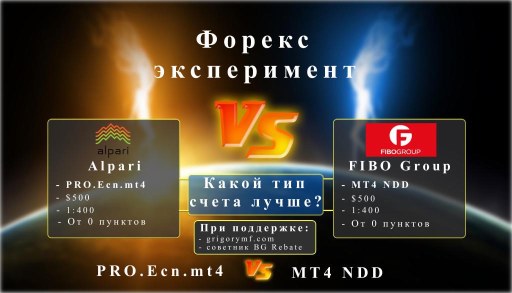 Лучший ECN брокер, Форекс эксперимент, Alpari vs Fibo Group, pro.ecn.mt4, mt4 ndd, Альпари, фибо
